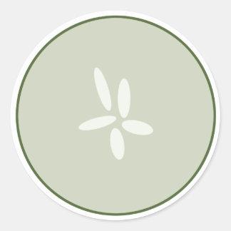 Cucumber Slice Sticker