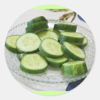 Cucumber stickers