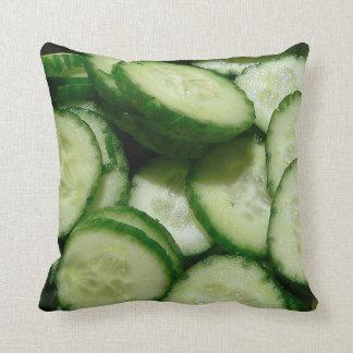 Cucumber Throw Pillow