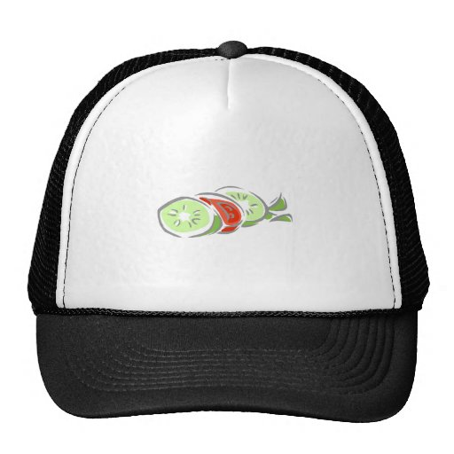 Cucumber & Tomatoe Salad Hat