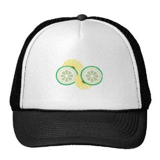 Cucumbers Flowers Trucker Hat
