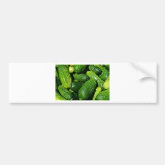 cucumbers pile bumper sticker