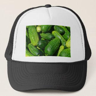 cucumbers pile trucker hat