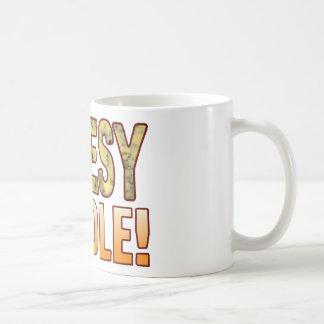 Cuddle Blue Cheesy Coffee Mug