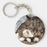 cuddle cat keychains