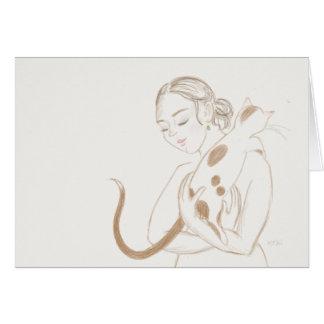 Cuddle Cat Notecard