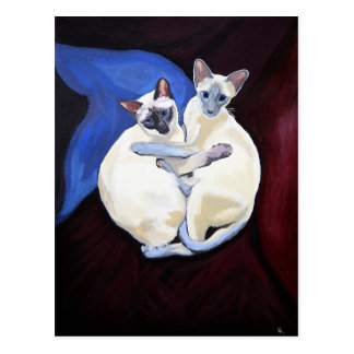 'Cuddle cats' Postcard