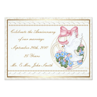 Cuddle Creek® Vintage Dove Invitation