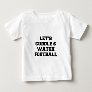 Cuddle & Football Baby T-Shirt