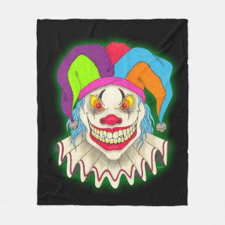 Cuddle with a Clown Fleece Blanket