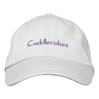Cuddlecakes Embroidered Hat