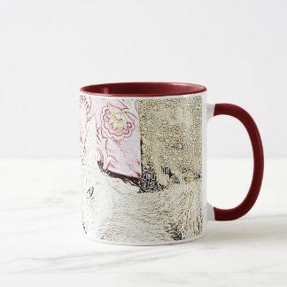Cuddles Cat Sketch Mug