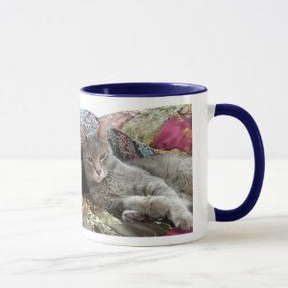 Cuddles on Pillow Mug