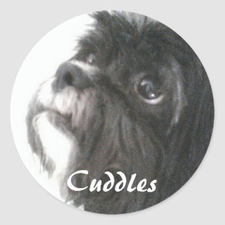 Cuddles Sticker