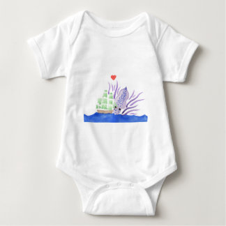 Cuddles the Kraken Baby Bodysuit