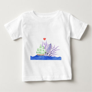Cuddles the Kraken Baby T-Shirt