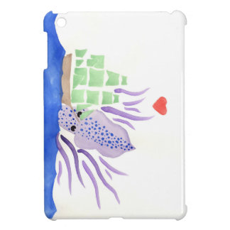 Cuddles the Kraken Cover For The iPad Mini