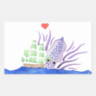 Cuddles the Kraken Sticker