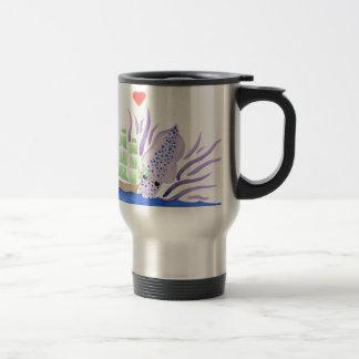 Cuddles the Kraken Travel Mug