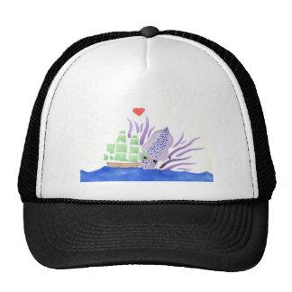 Cuddles the Kraken Trucker Hat