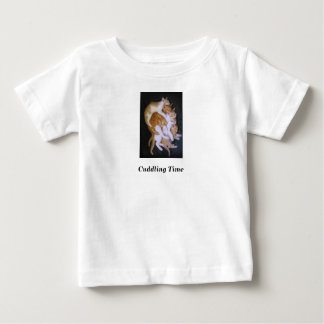 cuddling cats baby T-Shirt