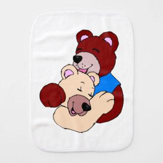 Cuddly Bears Burp Cloth