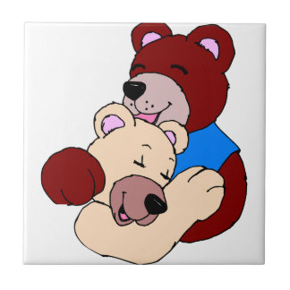Cuddly Bears Tile