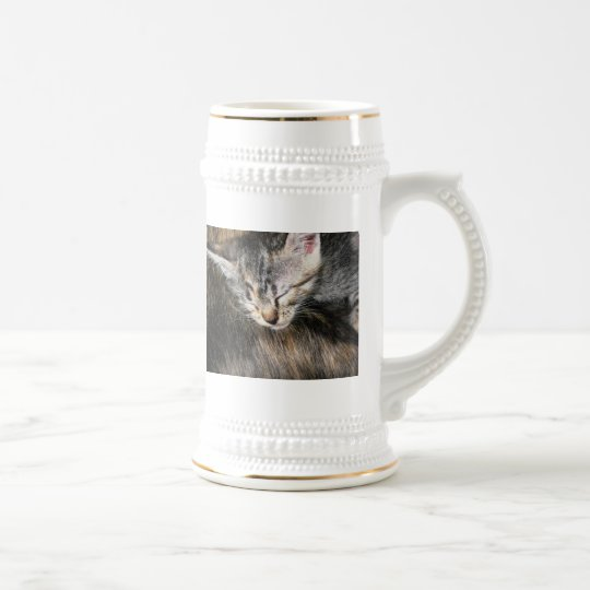 Cuddly Kitten Beer Stein