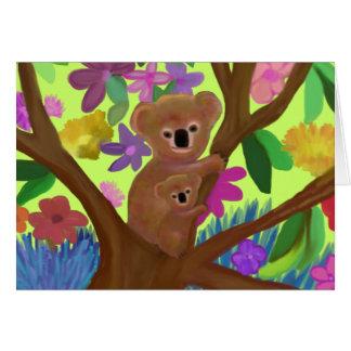 Cuddly Koala Habitat Cards