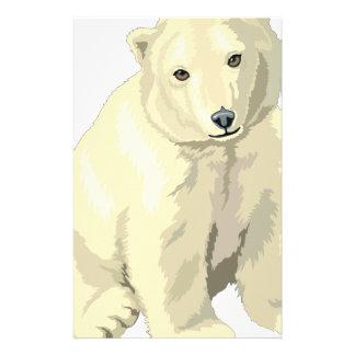 Cuddly  Polar Bear Stationery