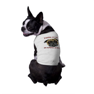 Cuddly Pug Pet T Shirt