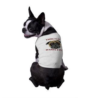 Cuddly Pug Pet T Shirt