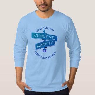 Cuddy Buddy Baby Blue long sleeve t-shirt