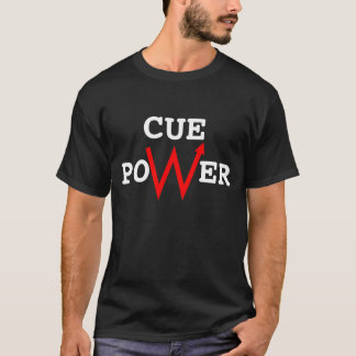 Cue power T shirt