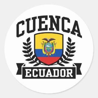 Cuenca Ecuador Classic Round Sticker