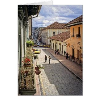 Cuenca Street Card