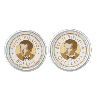 Cufflinks - Benoit Hot Club/Orchestra (Yellow)