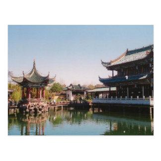 Cui Hu Qiu Bo in the City of Kun Ming Postcard