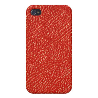 Cuir rouge… pas coques iPhone 4