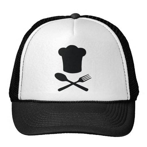 cuisine de restaurant de chapeau de chef de cuisin casquette de camionneur