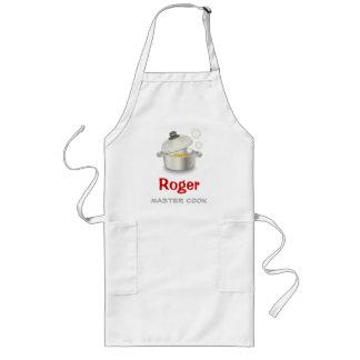 Cuisinier principal tablier long