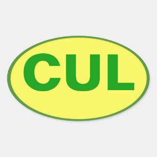 CUL sticker - Culebra Colors!