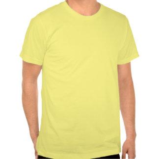 culbute à l'envers noire t-shirt