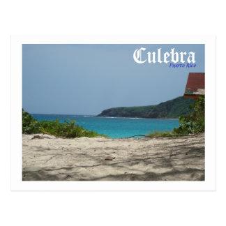 Culebra, Puerto Rico Postcard