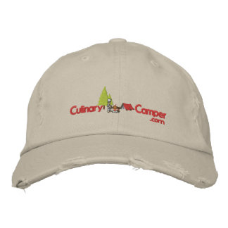 Culinary Camper Adjustable Hat Embroidered Hat
