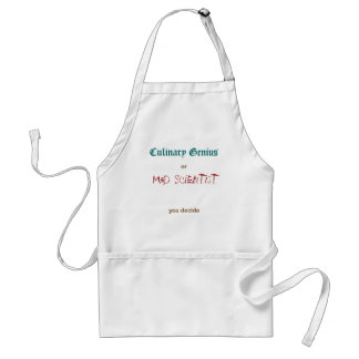 Culinary Genius/Mad Scientist Standard Apron