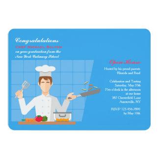 Culinary Grad Invitation