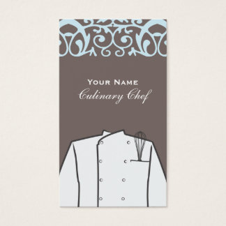 Culinary Personal Chef Catering Company Business Card