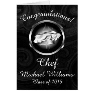Culinary School Graduation Personalized Card