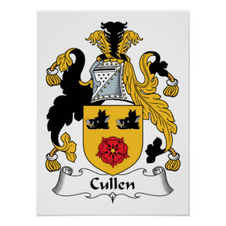 Cullen Family Crest Poster